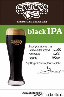 Black IPA - Saldens brewery
