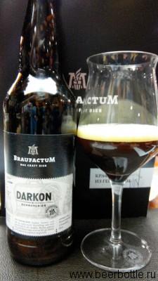 Пиво Braufactum Darkon