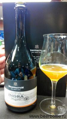 Пиво Braufactum Indra