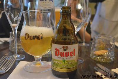 Пиво Duvel Triple Hop 2015