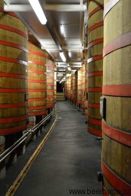 Бочки с пивом Rodenbach
