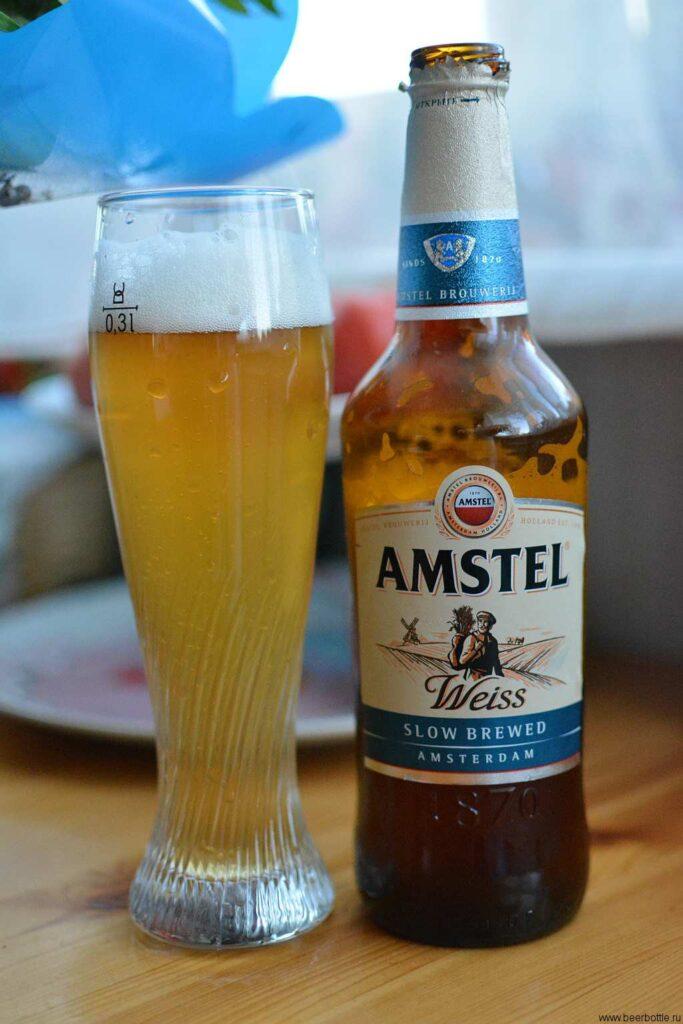Пиво Amstel Weiss