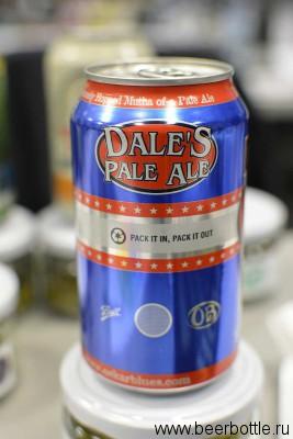 пиво Dale`s Pale ale
