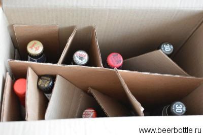 Пиво в коробке