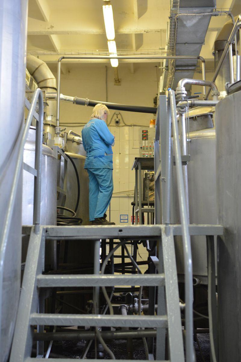 Пивоварня KONIX варочный цех