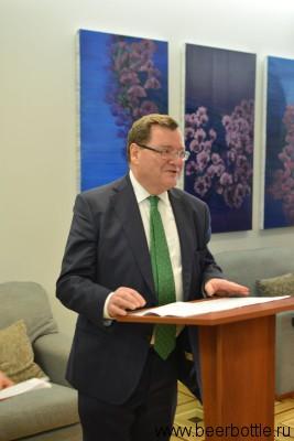 Посол Ирландии Эдриан МакДэйд