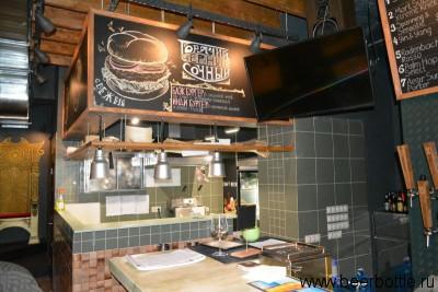 Бургеры в баре Top Hop