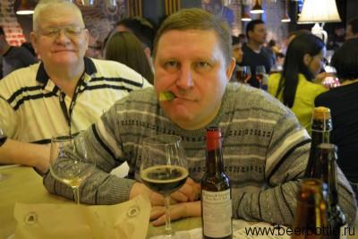 Пиво Bommen & Granaten Rioja Barrel Aged и Паша Егоров