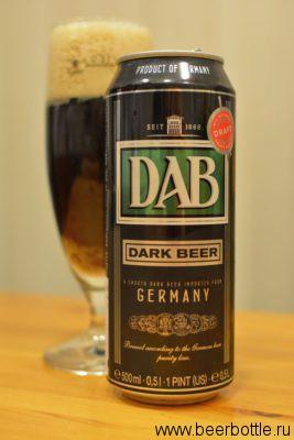 Пиво DAB Dark