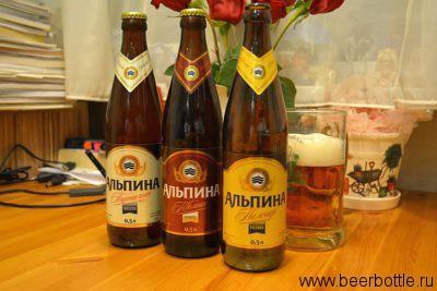 Пиво Альпина