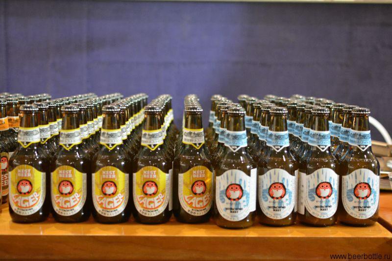 Пиво Hitachino Lager и Whit