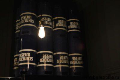 Пиво в ресторане Schneider