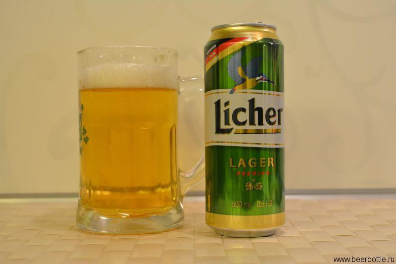 Пиво Licher Lager Premium