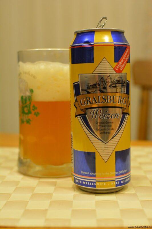 Пиво Gralsburg Weizen