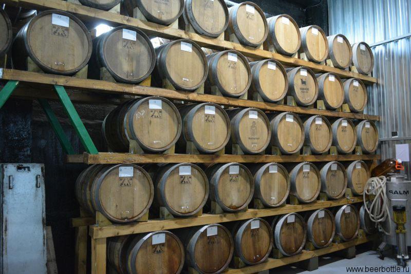Бочки пивоварня Stamm Beer