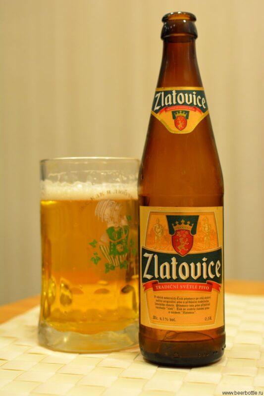 Пиво Zlatovice