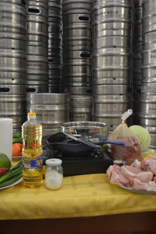 Пиво и еда