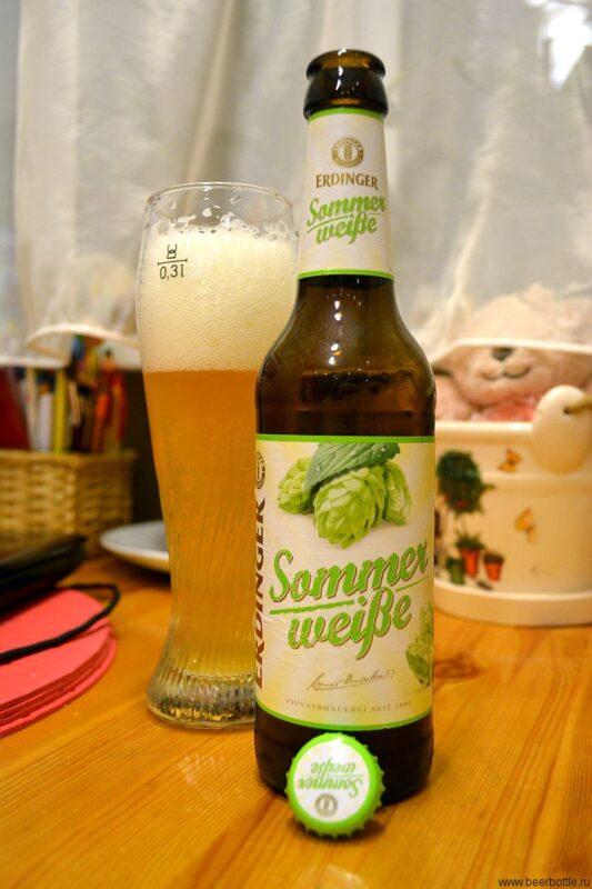 Пиво Erdinger Sommerweiße