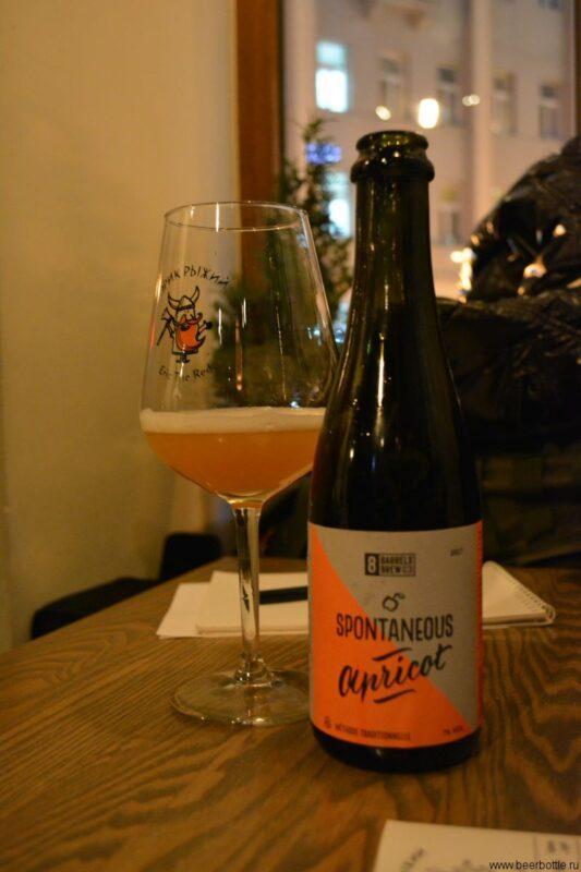 Пиво Spontaneous Apricot