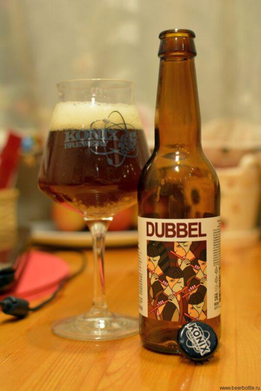 Пиво KONIX Dubbel