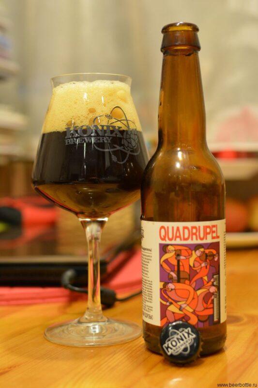 Пиво KONIX Quadrupel