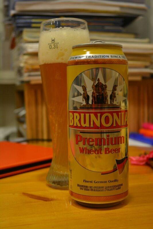 Пиво Brunonia Premium Wheat