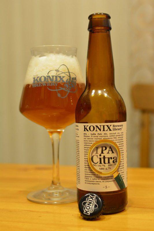 Пиво KONIX Citra IPA