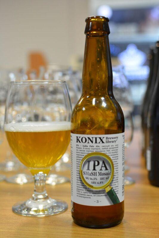 Пиво KONIX SMaSH IPA Mosaic