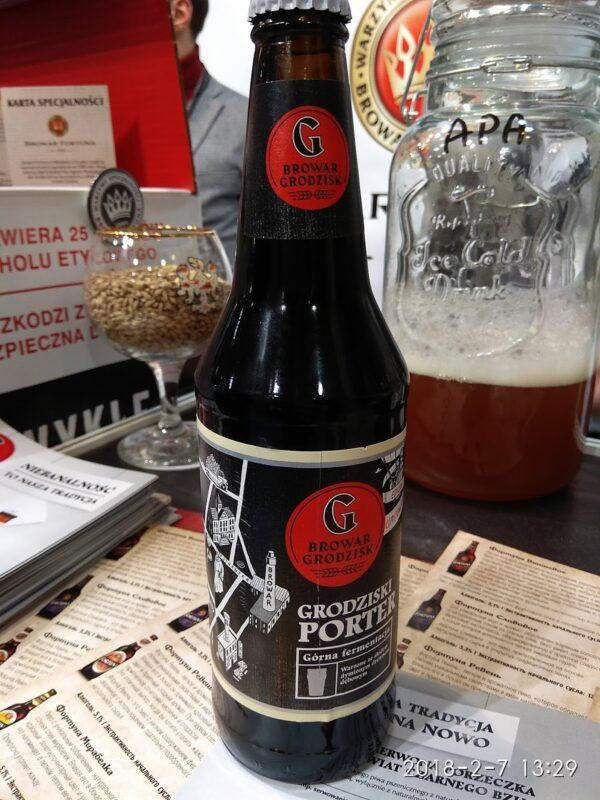 Пиво Porter Grodziski