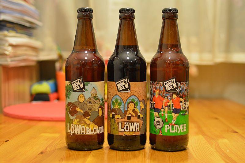 Пиво от Crazy Brew