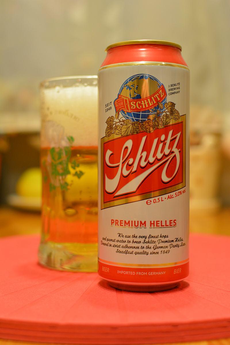 Пиво Schlitz Premium Helles