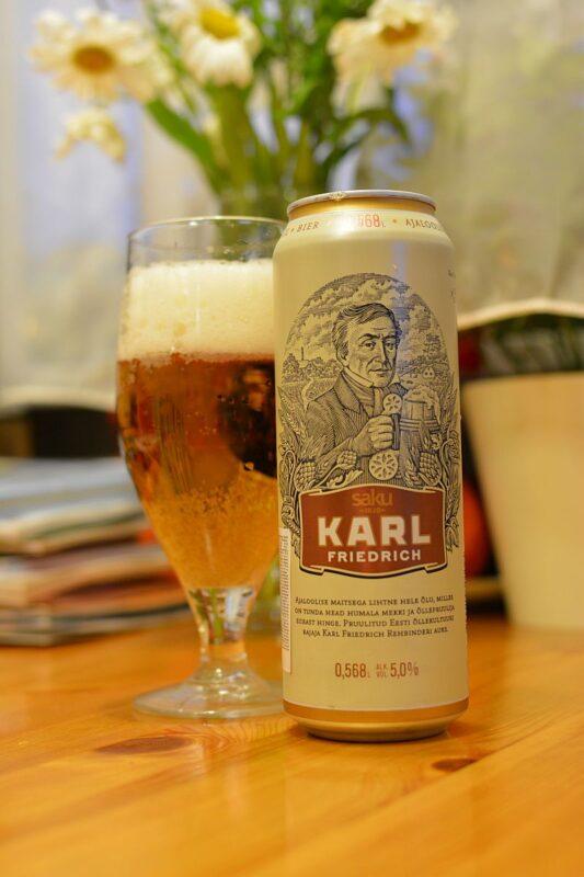 Пиво Karl Friedrich