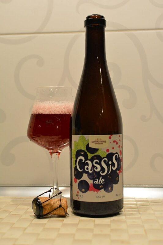 Пиво Василеостровское Cassis Ale