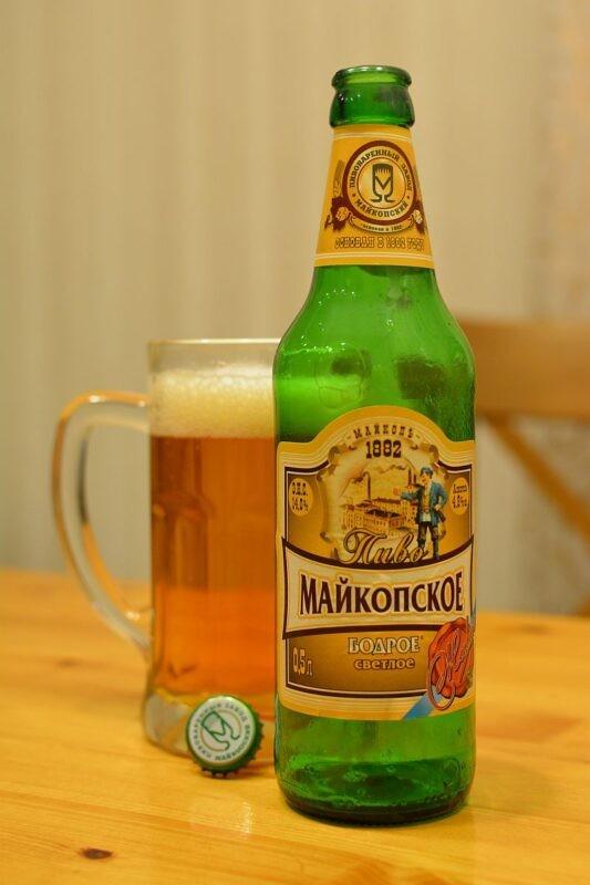 Пиво Майкопское бодрое