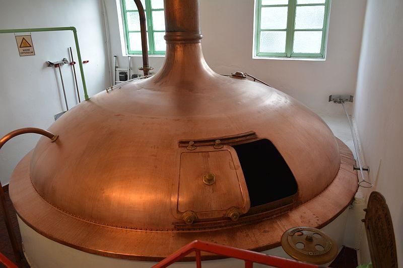 Пивоварня Timmermans. Варочный танк