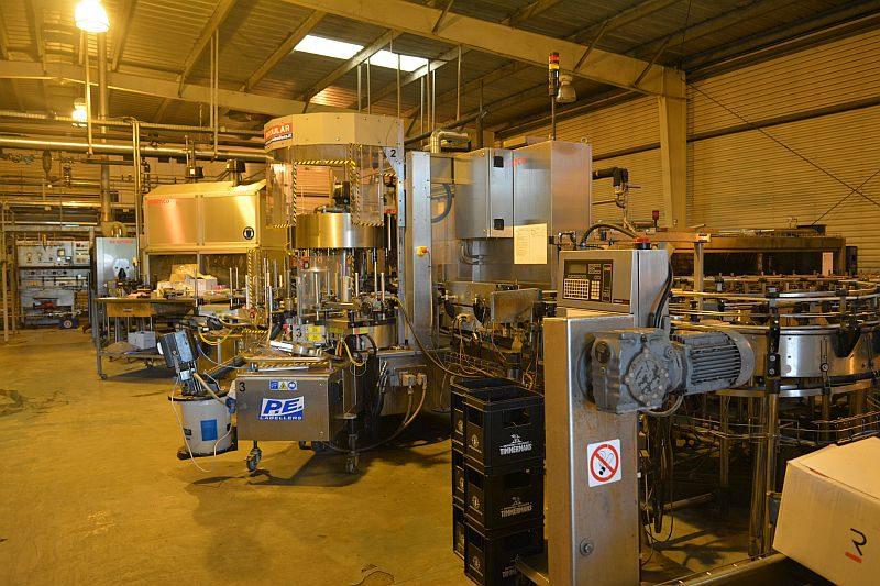 Завод Timmermans. Линия розлива