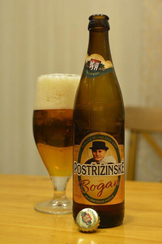 Пиво Postřižinské Bogan