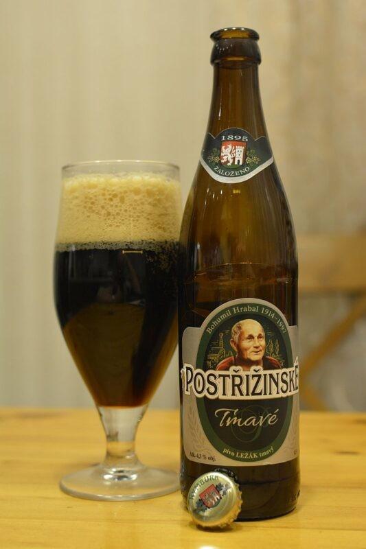 Пиво Postřižinské Tmavé
