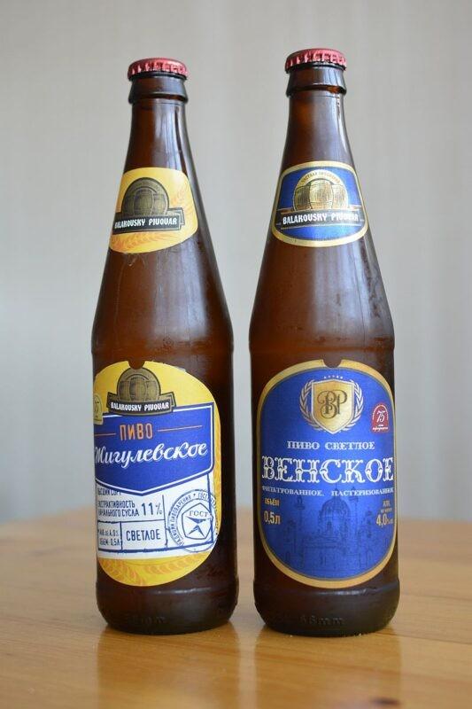 Пиво от Балаковского пивзавода