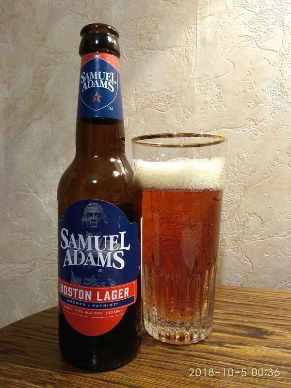Пиво Samuel Adams Boston Lager