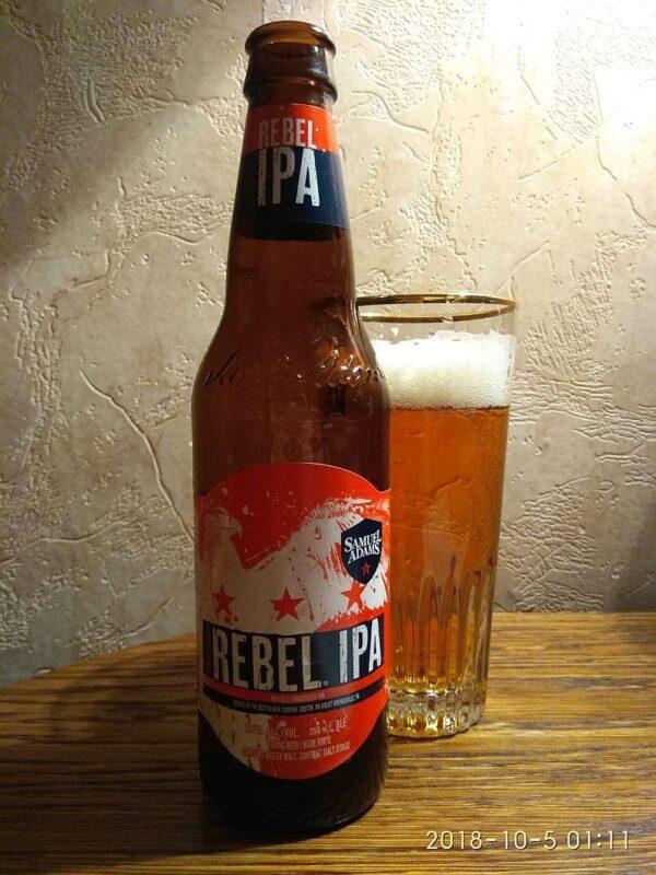 Пиво Samuel Adams Rebel IPA