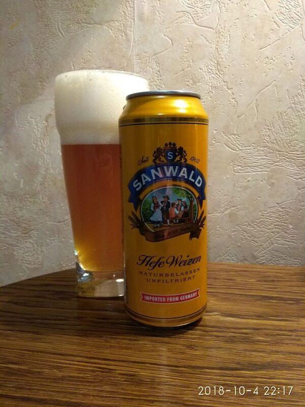 Пиво Sanwald weizen