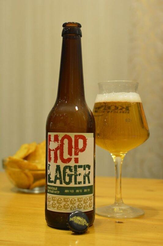 Пиво Василеостровское Hop Lager