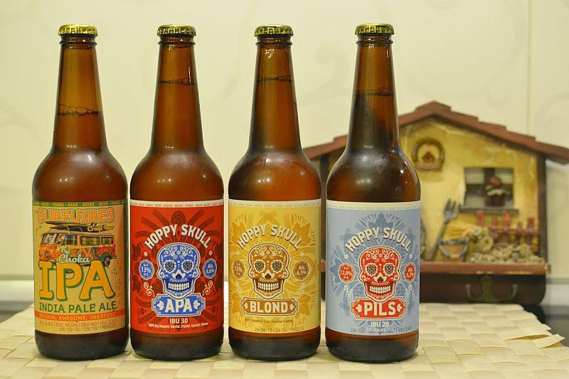 Пиво Hoppy Skull (Дека)