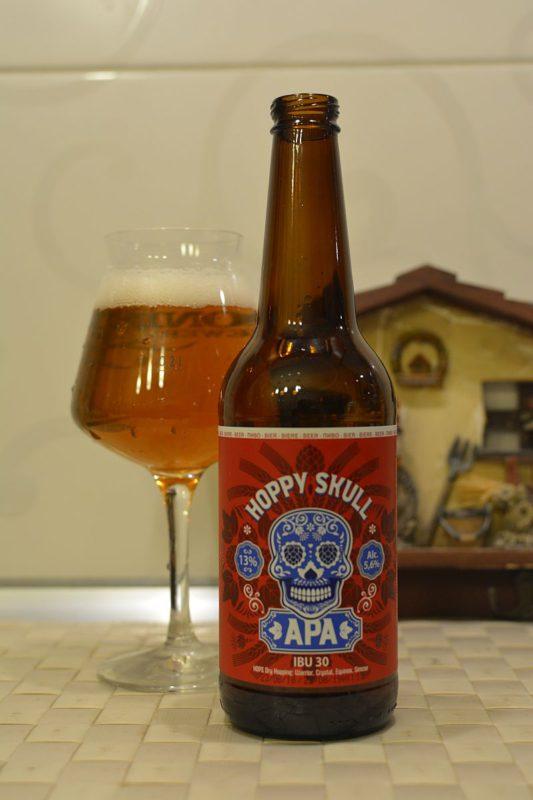 Пиво Hoppy Skull APA