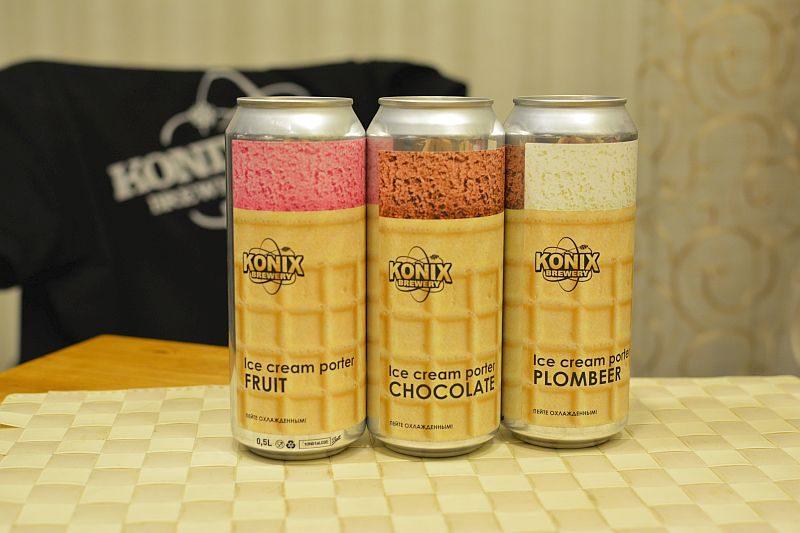 Пиво Ice Cream Porter