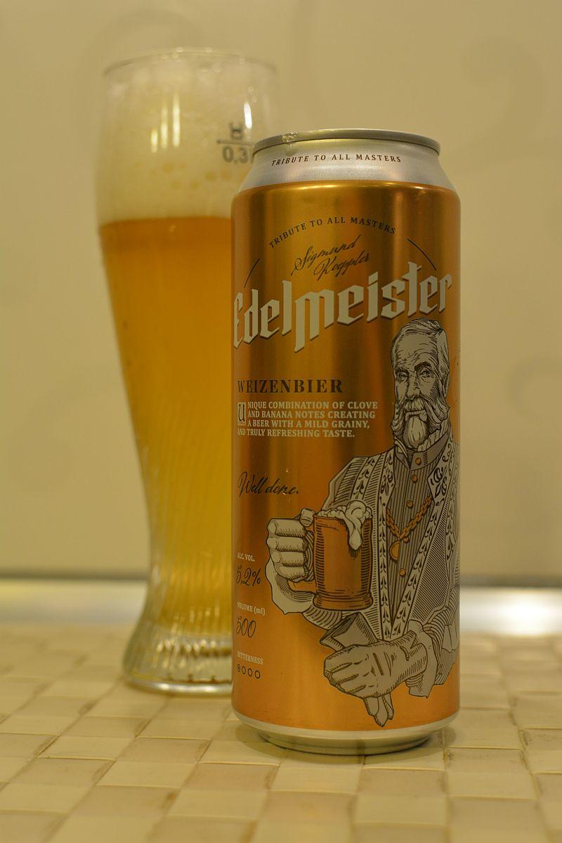 Пиво Edelmeister Weizenbier