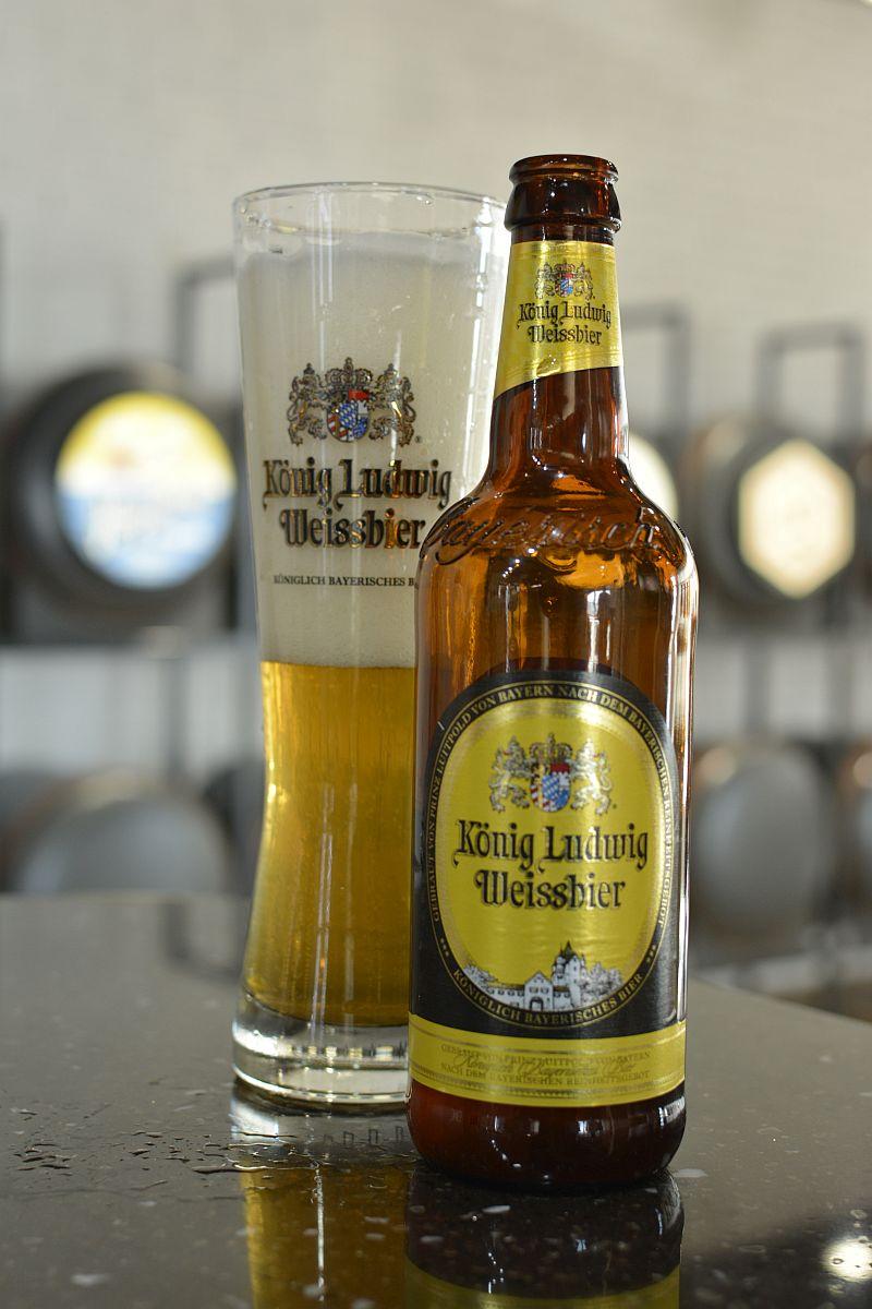 Пиво König Ludwig Weiss