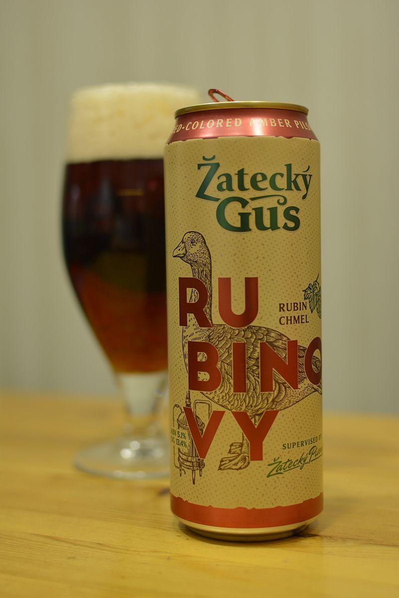Пиво Žatecký Gus Rubinovy