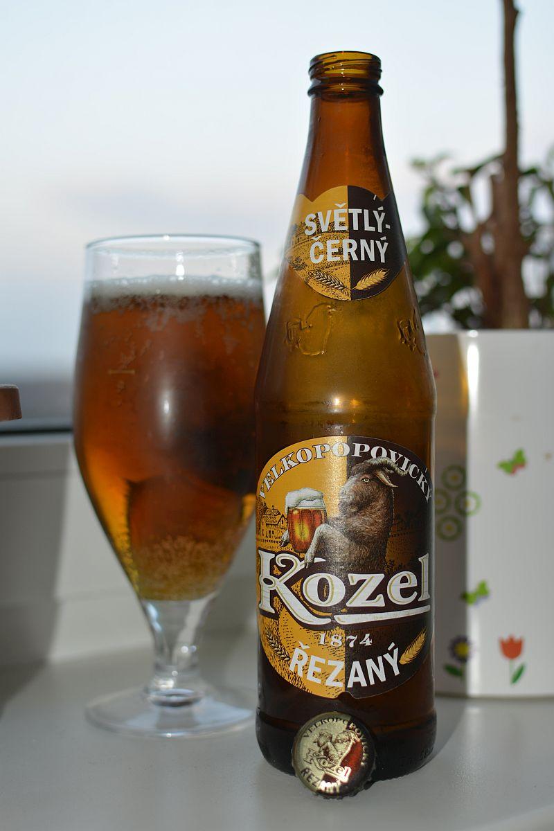 Пиво Kozel Řezaný